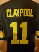 Pittsburgh Steelers Chase Claypool 11 Gold Rush Jersey Size Xl