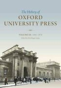 The History Of Oxford University Press Volume Iii 1896 To 1970 9780199568406
