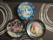 Beautiful Vintage Bradford Exchange Russian Legends Fairy Tale Collector Plates
