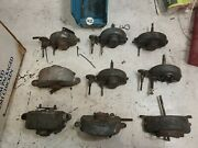 Vintage Lot Of 9 1930andrsquos 1940andrsquos Vacuum Wiper Motors Trico Gm Chevy Ford W1