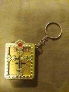Small Book / Bible Keychain Plastic Case