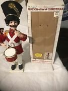 Telco Christmas Soldier Drummer Animated 24 Orig Box Great Motion-ette Works