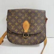 Authentic Louis Vuitton Womenand039s St. Cloud Crossbody Bag Long Strap Brown Os