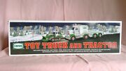 2013 Hess Toy Truck And Tactor Mint With Box