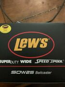 Lew's Super Duty Wide Speed Spool Baitcasting Reels Bass And Inshore Fishing Reel