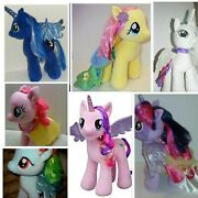 Lot Of 7 Build A Bear My Little Pony Bear Princesses 16 Plush New Without Tags