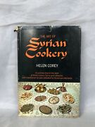 The Art Of Syrian Cookery Corey Vintage Cookbook Middle Eastern Food Recipes