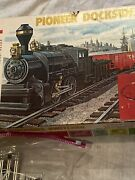 Lionel Pioneer Dockside Switcher Group - O Scale Engine 8209 No Tender