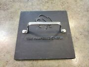 The Pampered Chef Cast Iron Panini Bacon Burger Grill Press