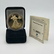 1933 Gold Double Eagle Lady Liberty Proof Gold Coin 2003 Copy In Capsule