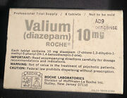 Valium 10 Mg Pharmaceutical Pill Box Science And Medicine Collectible Vintage