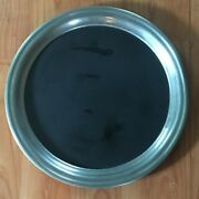 Vintage 14 Inch English Pewter Paten Charger Plate Made In England