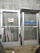 Glass Store Front Doors With Frame 43 1/2wide X 83 5/8high