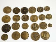 Collection Of 23 Portugese Air Force Military Officers Medals Medallions