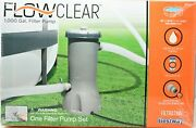 Bestway Flowclear 1000 Gallon Gph Filter Pump Above Ground Swimming Pool 58664e