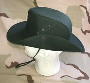 Us Army Di Hat Vintage Drill Instructor Green Ag-489 Nsn 8410-01-348-2458 Large