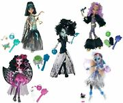 Monster High Ghouls Rule 5 Dolls Lot Abbey Clawdeen Cleo Draculaura Frankie