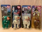 Mcd Charities Ty Beanie Babies Full Set All Errors And Tags New World Bundle