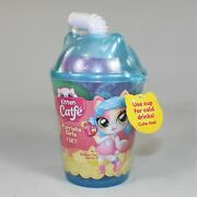 Kitten Catfe Purrista Girls Cat Inspired Doll Bubble Tea Series 3 In A Blue Cup