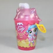 Kitten Catfe Purrista Girls Cat Inspired Doll Bubble Tea Series 3 In A Pink Cup