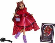 Monster High Scarily Ever After Doll Little Dead Riding Wolf Clawd - New✿✿cute✿