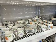 75 Pc Villeroy And Boch Amapola Dinnerware And Serveware Collection