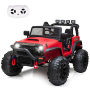 Electric Kids Ride On Car Off-road Vehicle With Light Design Children's Toy New