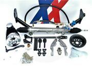 And03956 Chevy Rack And Pinion Power Steering Conversion Quick-ratio Steering Arms