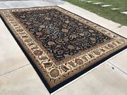 10x14 Ethan Allen Hand Knotted Wool Rug