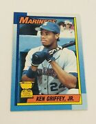 1990 Topps 336 Ken Griffey Jr. All Star Rookie Rare Bloody Scar Lot Of 6