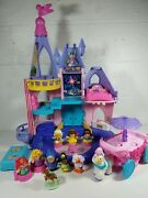Fisher Price Little People Disney Princess Songs Palace Cinderella And Ariel Coach