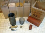 Nos Piston And Sleeve Kit Incomplete Fits Massey Tractor Part 840589m91