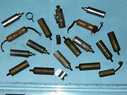 Lot Of 17 Used Magneto Condensers Part