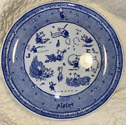 Spode 2003 Classic Pooh Discovery Disney Showcase Piglet Plate