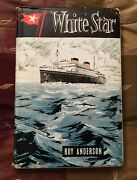 1st Ed 1964 White Star Line Roy Anderson Illustrated Titanic Olympic Britannic