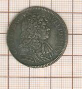 Ardennes, Bouillon, Godefroy Maurice, Rare And Pretty Token Silver 1683