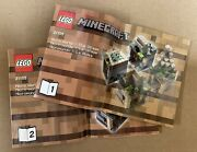 Lego Minecraft Micro World The Village - 21105 - New In Sealed Bags - No Box
