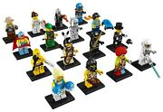 Lego Minifigures Series 1 8683 Complete Unopened Set Of 16 New Factory Sealed