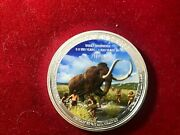1oz.999 Silver,republic Of Congowooly Mammothbeautifully Detailed 250 Made