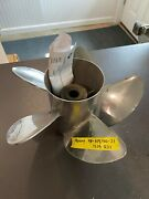 Mercury 48-815760a46 Propeller 13.25 X 21p Right Stainless Steel