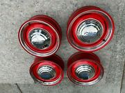 15 Inch Ford Wheels Hubcaps Beauty Rings