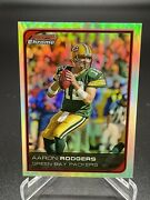 2006 Bowman Chrome 201 Aaron Rodgers Refractor Green Bay Packers