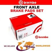 Brembo Front Axle Brake Pads Set For Mercedes Benz Slr 5.4 722 Edition 2006-on