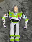 Buzz Lightyear Toy Story Thinkway 2009 Talking Tested 12