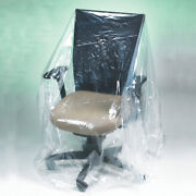 Furniture Covers 28 X 17 X 124 520 Perforated Covers Rolls, 1 Mil Clear