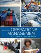 Operations Management By William J. Stevenson 2017, Hardcover