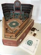 Old Century Baseball Game All Wood Construction Classic Pinball Style - Nice