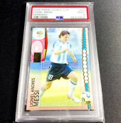 2006 Panini World Cup Germany Lionel Messi - Psa 9 - 1st World Cup Card -pop 217