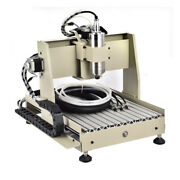 800w 4 Axis Cnc 3040 Router Engraver Pcb Wood Drill Milling 3d Engraving Machine