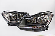 Mercedes C-class W204 2011-2014 Facelift Headlights Front Lamps Left+right Oem